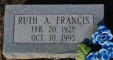 FRANCIS, RUTH A. - Meigs County, Ohio | RUTH A. FRANCIS - Ohio Gravestone Photos