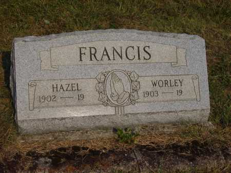 FRANCIS, HAZEL - Meigs County, Ohio | HAZEL FRANCIS - Ohio Gravestone Photos