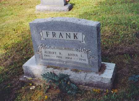 FRANK, ANNA L. - Meigs County, Ohio | ANNA L. FRANK - Ohio Gravestone Photos