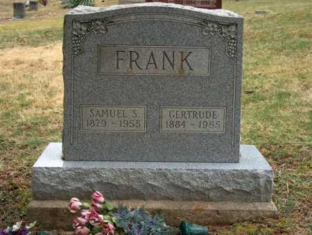 FRANK, SAMUEL S. - Meigs County, Ohio | SAMUEL S. FRANK - Ohio Gravestone Photos