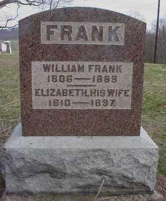 FRANK, ELIZABETH - Meigs County, Ohio | ELIZABETH FRANK - Ohio Gravestone Photos