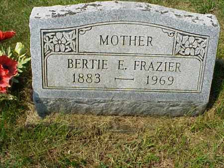 FRAZIER, BERTIE E. - Meigs County, Ohio | BERTIE E. FRAZIER - Ohio Gravestone Photos