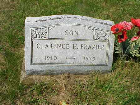FRAZIER, CLARENCE H. - Meigs County, Ohio | CLARENCE H. FRAZIER - Ohio Gravestone Photos