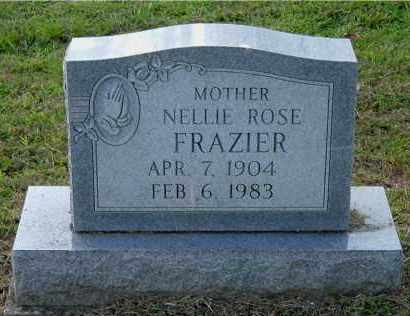 FRAZIER, NELLIE ROSE - Meigs County, Ohio | NELLIE ROSE FRAZIER - Ohio Gravestone Photos