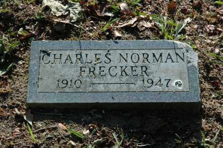FRECKER, CHARLES NORMAN - Meigs County, Ohio | CHARLES NORMAN FRECKER - Ohio Gravestone Photos