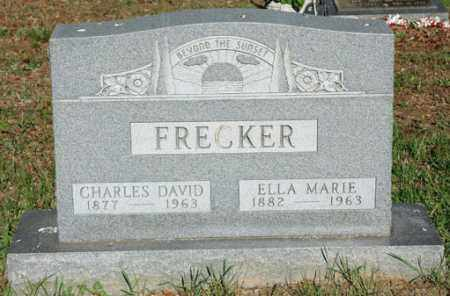 BAUM FRECKER, ELLA MARIE - Meigs County, Ohio | ELLA MARIE BAUM FRECKER - Ohio Gravestone Photos