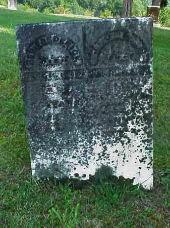 FREDERICK, JOHN - Meigs County, Ohio | JOHN FREDERICK - Ohio Gravestone Photos