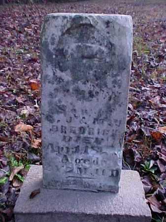 FREDRICK, JOHN W. - Meigs County, Ohio | JOHN W. FREDRICK - Ohio Gravestone Photos