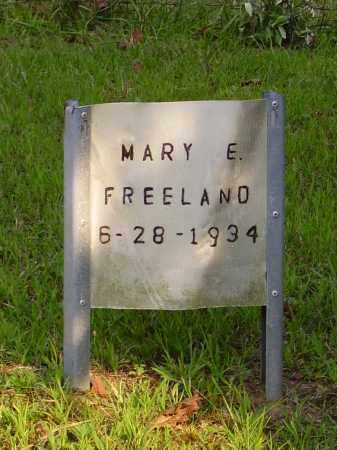 FREELAND, MARY E. - Meigs County, Ohio | MARY E. FREELAND - Ohio Gravestone Photos