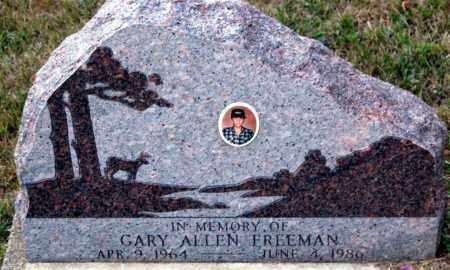 FREEMAN, GARY ALLEN - Meigs County, Ohio | GARY ALLEN FREEMAN - Ohio Gravestone Photos