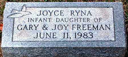 FREEMAN, JOYCE RYNA - Meigs County, Ohio | JOYCE RYNA FREEMAN - Ohio Gravestone Photos