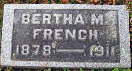 FRENCH, BERTHA M. - Meigs County, Ohio | BERTHA M. FRENCH - Ohio Gravestone Photos