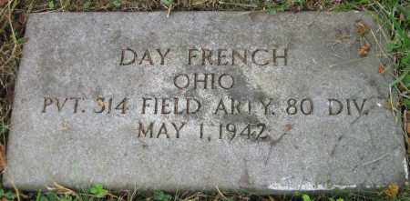 FRENCH, DANA DAY - Meigs County, Ohio | DANA DAY FRENCH - Ohio Gravestone Photos