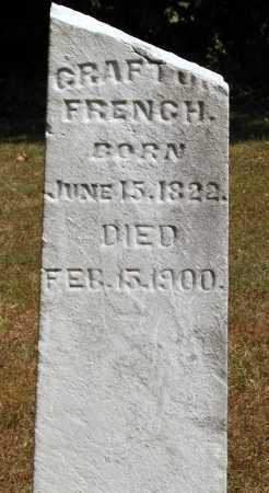 FRENCH, GRAFTON - Meigs County, Ohio | GRAFTON FRENCH - Ohio Gravestone Photos