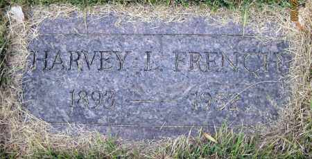 FRENCH, HARVEY L. - Meigs County, Ohio | HARVEY L. FRENCH - Ohio Gravestone Photos