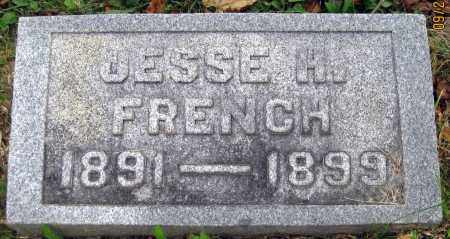 FRENCH, JESSE H - Meigs County, Ohio | JESSE H FRENCH - Ohio Gravestone Photos