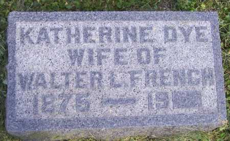 FRENCH, KATHERINE - Meigs County, Ohio | KATHERINE FRENCH - Ohio Gravestone Photos