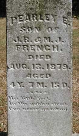 FRENCH, PEARLEY E. - Meigs County, Ohio | PEARLEY E. FRENCH - Ohio Gravestone Photos