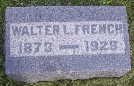 FRENCH, WALTER L. - Meigs County, Ohio | WALTER L. FRENCH - Ohio Gravestone Photos