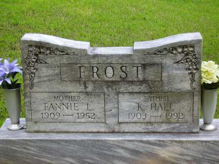 FROST, FANNIE L. - Meigs County, Ohio | FANNIE L. FROST - Ohio Gravestone Photos