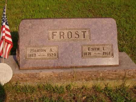 FROST, EDITH L. - Meigs County, Ohio | EDITH L. FROST - Ohio Gravestone Photos