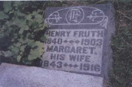 FRUTH, HENRY - Meigs County, Ohio | HENRY FRUTH - Ohio Gravestone Photos