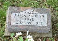 FRYE, CARLA KATHRYN - Meigs County, Ohio | CARLA KATHRYN FRYE - Ohio Gravestone Photos