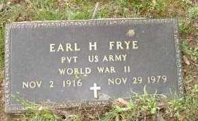 FRYE, EARL H. - Meigs County, Ohio | EARL H. FRYE - Ohio Gravestone Photos