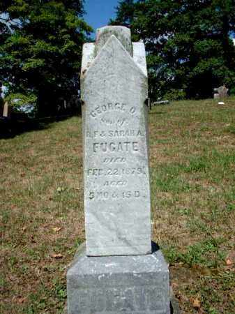 FUGATE, GEORGE O. - Meigs County, Ohio | GEORGE O. FUGATE - Ohio Gravestone Photos