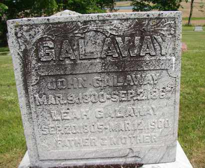 GALAWAY, LEAH - Meigs County, Ohio | LEAH GALAWAY - Ohio Gravestone Photos