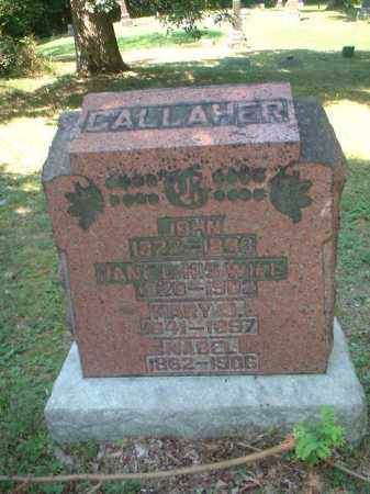 GALLAHER, MABEL - Meigs County, Ohio | MABEL GALLAHER - Ohio Gravestone Photos