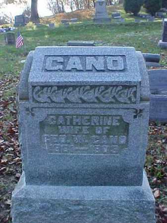 GANO, CATHERINE - Meigs County, Ohio   CATHERINE GANO - Ohio Gravestone Photos