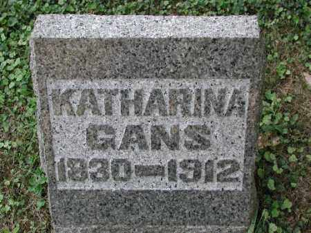 GANS, KATHARINA - Meigs County, Ohio | KATHARINA GANS - Ohio Gravestone Photos