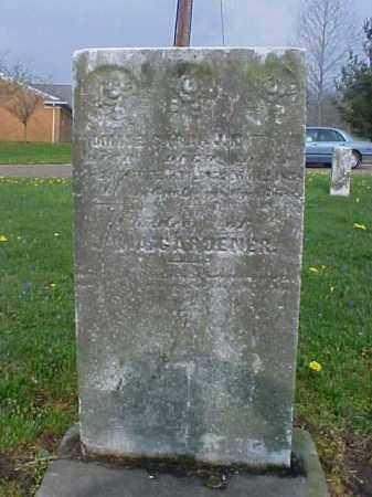 GARDENER, SARAH J. - Meigs County, Ohio | SARAH J. GARDENER - Ohio Gravestone Photos