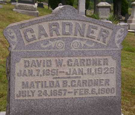 GARDNER, DAVID WILLIAM - Meigs County, Ohio | DAVID WILLIAM GARDNER - Ohio Gravestone Photos