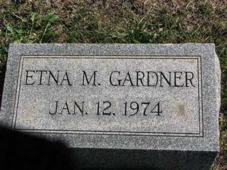 GARDNER, ETNA M. - Meigs County, Ohio | ETNA M. GARDNER - Ohio Gravestone Photos