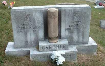 GARDNER, BARBARA ANN - Meigs County, Ohio | BARBARA ANN GARDNER - Ohio Gravestone Photos