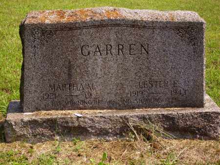 GARREN, MARTHA M. - Meigs County, Ohio | MARTHA M. GARREN - Ohio Gravestone Photos