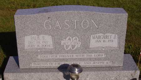 GASTON, PAUL E. - Meigs County, Ohio | PAUL E. GASTON - Ohio Gravestone Photos