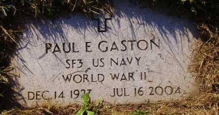GASTON, PAUL E. - MILITARY - Meigs County, Ohio | PAUL E. - MILITARY GASTON - Ohio Gravestone Photos