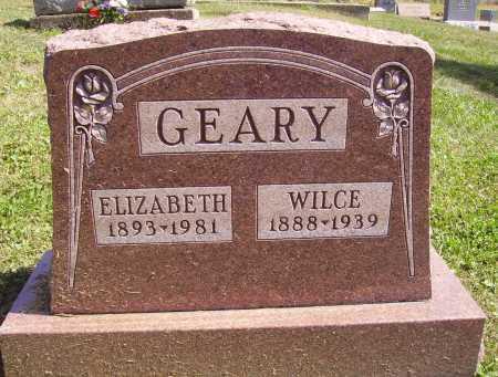 MISNER GEARY, ELIZABETH - Meigs County, Ohio | ELIZABETH MISNER GEARY - Ohio Gravestone Photos