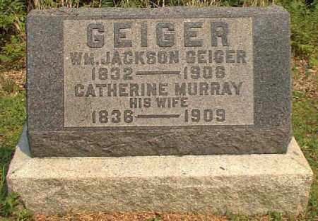MURRAY GEIGER, CATHERINE - Meigs County, Ohio | CATHERINE MURRAY GEIGER - Ohio Gravestone Photos
