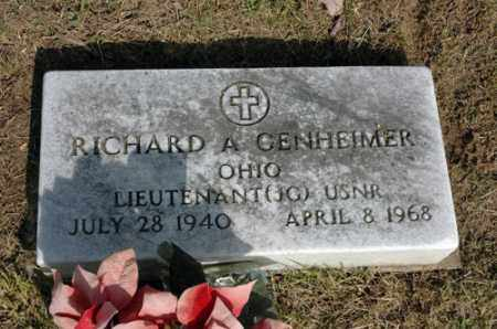 GENHEIMER, RICHARD ALLEN - Meigs County, Ohio | RICHARD ALLEN GENHEIMER - Ohio Gravestone Photos