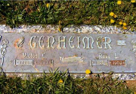 GENHEIMER, ROSE LUCILLE - Meigs County, Ohio | ROSE LUCILLE GENHEIMER - Ohio Gravestone Photos