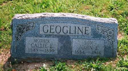 GEOGLINE, CALLIE - Meigs County, Ohio | CALLIE GEOGLINE - Ohio Gravestone Photos