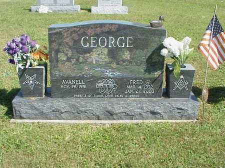 GEORGE, AVANELL - Meigs County, Ohio | AVANELL GEORGE - Ohio Gravestone Photos