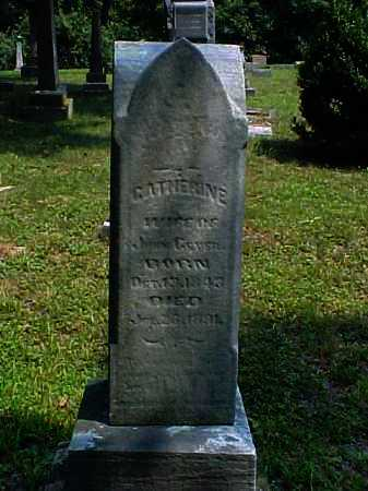 GEYER, CATHERINE - Meigs County, Ohio | CATHERINE GEYER - Ohio Gravestone Photos