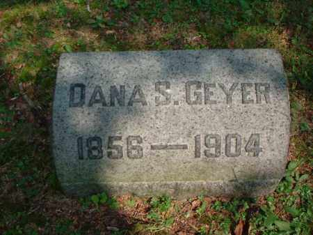 GEYER, DANA S. - Meigs County, Ohio | DANA S. GEYER - Ohio Gravestone Photos
