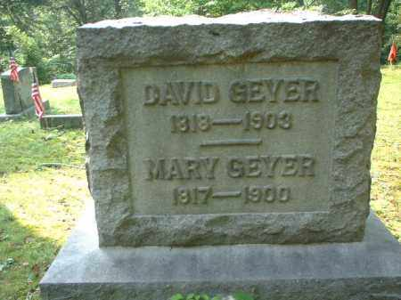 GEYER SR., DAVID - Meigs County, Ohio | DAVID GEYER SR. - Ohio Gravestone Photos