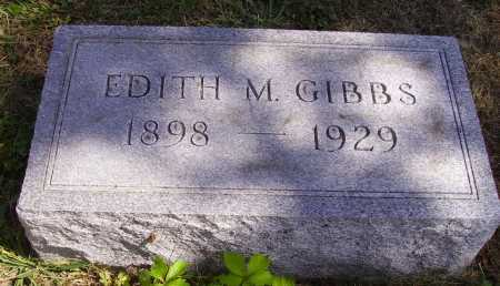 GIBBS, EDITH M. - Meigs County, Ohio | EDITH M. GIBBS - Ohio Gravestone Photos